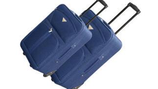 Juego de 2 maletas semirígidas