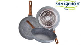 Set 3 sartenes aluminio forjado San Ignacio