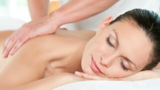 Masaje antiestrés y descontracturante de espalda