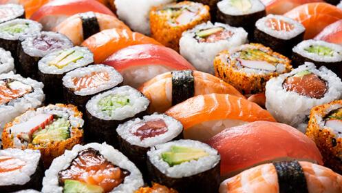 19 o 48 piezas de sushi para recoger en Bio Oriental