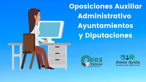 Curso online para Auxiliar administrativo de Ayuntamientos y diputaciones