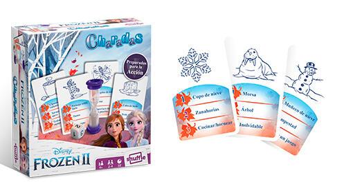 Juego de cartas de Frozen II Charadas + Color Addict