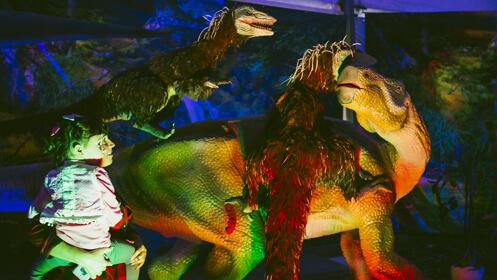 ¡La mayor exposición itinerante de dinosaurios a tamaño real!