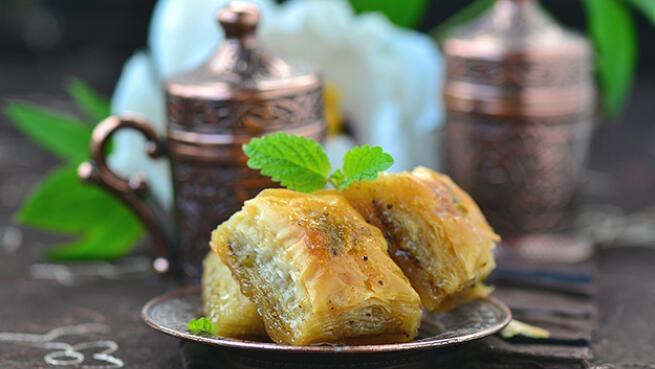 Menú degustación árabe de 7 platos en Bilbao