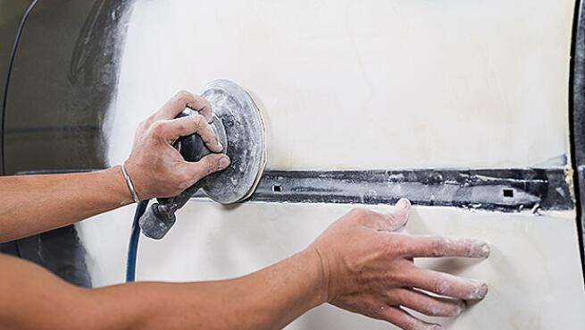 Reparación de chapa y pintura en Bilbao