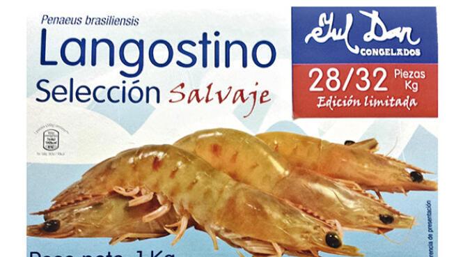 1 o 2 estuches Gourmet de langostinos  salvajes Juldan ¡Unidades Limitadas!