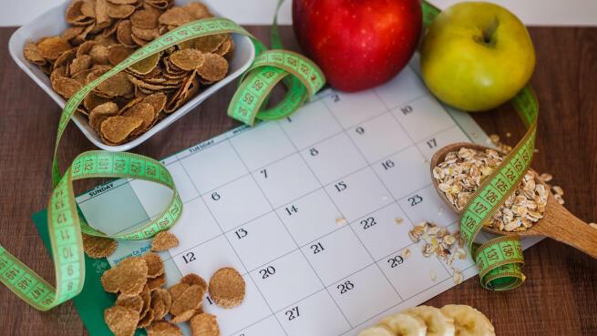 Aprende a comer con un calendario nutricional