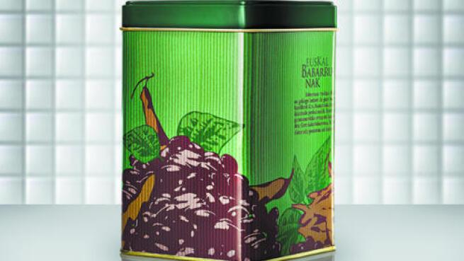 Delantal + 2 latas de cocina