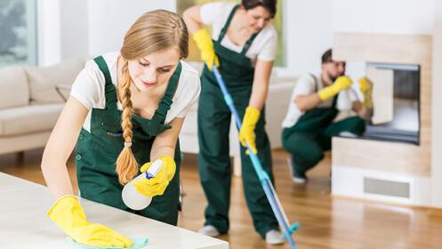 Limpieza y desinfección de tu vivienda