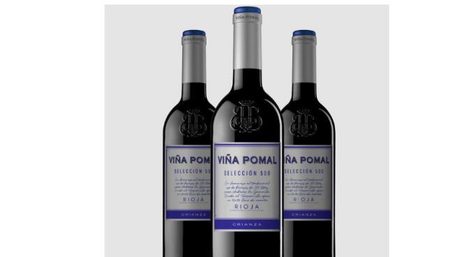 3 botellas Viña Pomal selección 500 + 4 copas